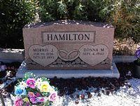 HAMILTON, DONNA M. - Chaffee County, Colorado | DONNA M. HAMILTON - Colorado Gravestone Photos