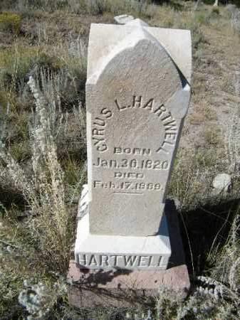 HARTWELL, CYPRUS L. - Chaffee County, Colorado   CYPRUS L. HARTWELL - Colorado Gravestone Photos