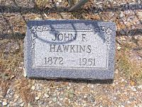 HAWKINS, JOHN F. - Chaffee County, Colorado | JOHN F. HAWKINS - Colorado Gravestone Photos