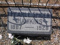 HAWKINS, PEARL E. - Chaffee County, Colorado | PEARL E. HAWKINS - Colorado Gravestone Photos