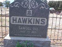 HAWKINS, SAMUEL IVE - Chaffee County, Colorado | SAMUEL IVE HAWKINS - Colorado Gravestone Photos