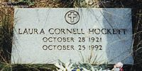 CORNELL HOCKETT, LAURA - Chaffee County, Colorado | LAURA CORNELL HOCKETT - Colorado Gravestone Photos