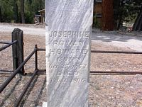 HOWARD, JOSEPHINE - Chaffee County, Colorado | JOSEPHINE HOWARD - Colorado Gravestone Photos