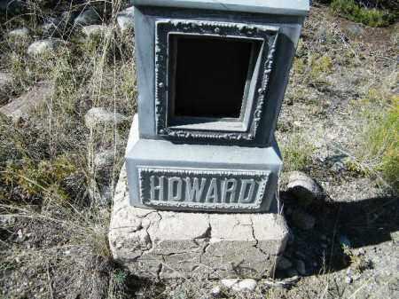 HOWARD, UNKNOWN - Chaffee County, Colorado | UNKNOWN HOWARD - Colorado Gravestone Photos