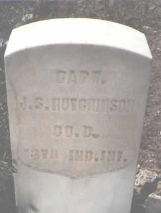 HUTCHINSON, J. S. - Chaffee County, Colorado | J. S. HUTCHINSON - Colorado Gravestone Photos