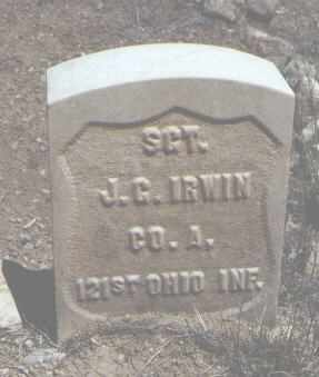 IRWIN, J. G. - Chaffee County, Colorado | J. G. IRWIN - Colorado Gravestone Photos