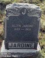 JARDIN, ALLYN - Chaffee County, Colorado | ALLYN JARDIN - Colorado Gravestone Photos