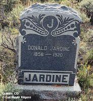 JARDINE, DONALD - Chaffee County, Colorado | DONALD JARDINE - Colorado Gravestone Photos