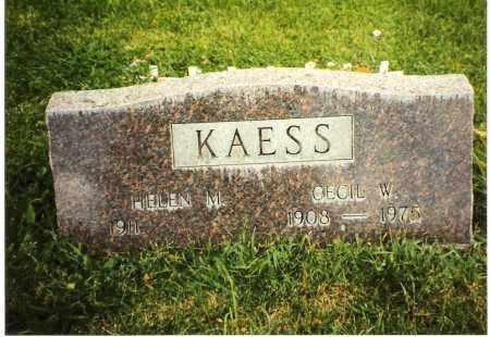 ALBRIGHT KAESS, HELEN M. - Chaffee County, Colorado | HELEN M. ALBRIGHT KAESS - Colorado Gravestone Photos