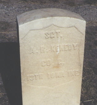 KENEDY, A. R. - Chaffee County, Colorado | A. R. KENEDY - Colorado Gravestone Photos