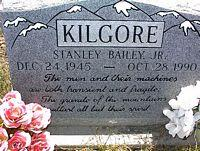 KILGORE, JR., STANLEY BAILEY - Chaffee County, Colorado | STANLEY BAILEY KILGORE, JR. - Colorado Gravestone Photos