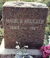 GALLAWAY KRUEGER, MAUD B. - Chaffee County, Colorado | MAUD B. GALLAWAY KRUEGER - Colorado Gravestone Photos