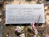 LACKEY, GORDON CLARENCE - Chaffee County, Colorado | GORDON CLARENCE LACKEY - Colorado Gravestone Photos