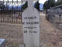 MAGUIRE, EMMIT M. - Chaffee County, Colorado | EMMIT M. MAGUIRE - Colorado Gravestone Photos