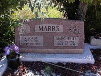MARRS, GEORGE - Chaffee County, Colorado | GEORGE MARRS - Colorado Gravestone Photos