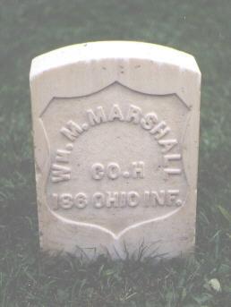 MARSHALL, WM. M. - Chaffee County, Colorado | WM. M. MARSHALL - Colorado Gravestone Photos