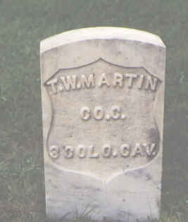 MARTIN, T. W. - Chaffee County, Colorado | T. W. MARTIN - Colorado Gravestone Photos