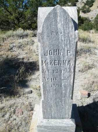 MCKENNA, JOHN P. - Chaffee County, Colorado | JOHN P. MCKENNA - Colorado Gravestone Photos