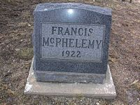 MCPHELEMY, FRANCIS - Chaffee County, Colorado | FRANCIS MCPHELEMY - Colorado Gravestone Photos