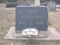 MCPHELEMY, JAMES - Chaffee County, Colorado | JAMES MCPHELEMY - Colorado Gravestone Photos
