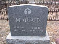 MCQUAID, BERNARD - Chaffee County, Colorado | BERNARD MCQUAID - Colorado Gravestone Photos