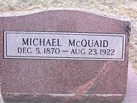 MCQUAID, MICHAEL - Chaffee County, Colorado | MICHAEL MCQUAID - Colorado Gravestone Photos