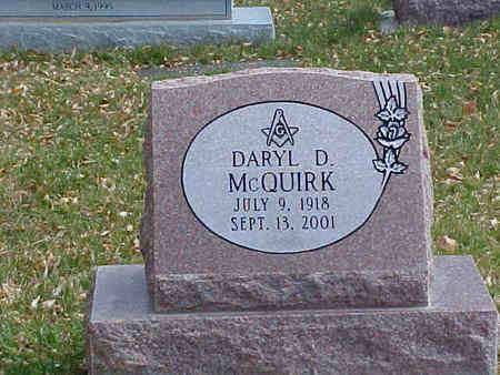 MCQUIRK, DARYL D - Chaffee County, Colorado | DARYL D MCQUIRK - Colorado Gravestone Photos