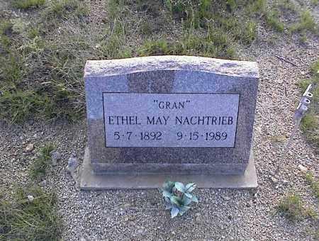 NACHTRIEB, ETHEL MAY - Chaffee County, Colorado | ETHEL MAY NACHTRIEB - Colorado Gravestone Photos