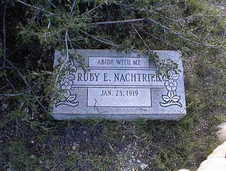 NACHTRIEB, RUBY E. - Chaffee County, Colorado   RUBY E. NACHTRIEB - Colorado Gravestone Photos