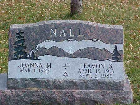 NALL, LEAMON S. - Chaffee County, Colorado | LEAMON S. NALL - Colorado Gravestone Photos