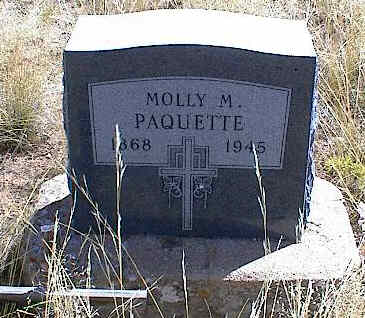 BERTSCHY PAQUETTE, MOLLY MARY - Chaffee County, Colorado | MOLLY MARY BERTSCHY PAQUETTE - Colorado Gravestone Photos
