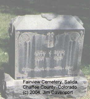 PARK, JOHN K. - Chaffee County, Colorado   JOHN K. PARK - Colorado Gravestone Photos