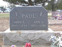 PAUL, JOHN E. - Chaffee County, Colorado | JOHN E. PAUL - Colorado Gravestone Photos