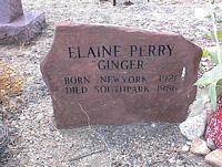 "PERRY, ELAINE ""GINGER"" - Chaffee County, Colorado 