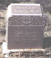 PINKUS, BEN - Chaffee County, Colorado | BEN PINKUS - Colorado Gravestone Photos