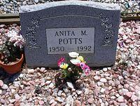 POTTS, ANITA M. - Chaffee County, Colorado | ANITA M. POTTS - Colorado Gravestone Photos