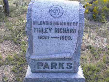 PARKS, FINLEY RICHARD - Chaffee County, Colorado | FINLEY RICHARD PARKS - Colorado Gravestone Photos