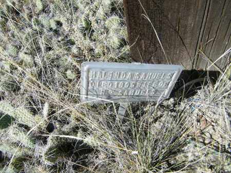 SAMUELS, MALINDA - Chaffee County, Colorado | MALINDA SAMUELS - Colorado Gravestone Photos