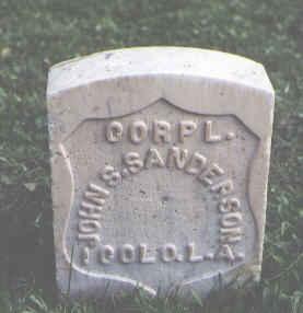 SANDERSON, JOHN S. - Chaffee County, Colorado   JOHN S. SANDERSON - Colorado Gravestone Photos