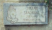 SANDOVAL, JOSEPH - Chaffee County, Colorado   JOSEPH SANDOVAL - Colorado Gravestone Photos