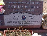 SAUER-LOPEZI, KATHLEEN MICHELLE - Chaffee County, Colorado | KATHLEEN MICHELLE SAUER-LOPEZI - Colorado Gravestone Photos