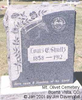 SCHULTZ, LOUIS C. - Chaffee County, Colorado | LOUIS C. SCHULTZ - Colorado Gravestone Photos