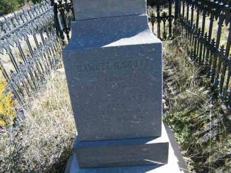 SCOTT, SAMUEL R. - Chaffee County, Colorado | SAMUEL R. SCOTT - Colorado Gravestone Photos