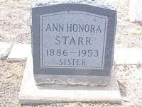 STARR, ANN HONORA - Chaffee County, Colorado | ANN HONORA STARR - Colorado Gravestone Photos