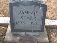 STARR, JAMES F. - Chaffee County, Colorado | JAMES F. STARR - Colorado Gravestone Photos