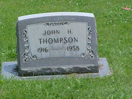 THOMPSON, JOHN H. - Chaffee County, Colorado | JOHN H. THOMPSON - Colorado Gravestone Photos
