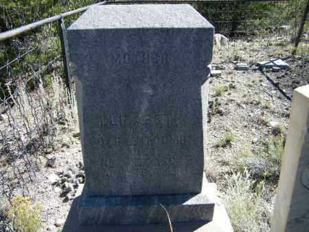 TIPCOMBE, ELIZABETH - Chaffee County, Colorado   ELIZABETH TIPCOMBE - Colorado Gravestone Photos