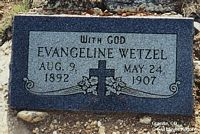 WETZEL, EVANGELINE - Chaffee County, Colorado | EVANGELINE WETZEL - Colorado Gravestone Photos