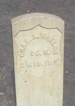 WHELON, CHAS. A. - Chaffee County, Colorado | CHAS. A. WHELON - Colorado Gravestone Photos