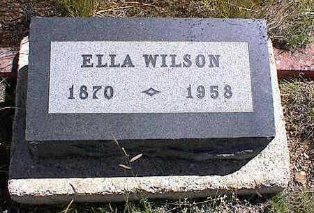 BERTSCHY WILSON, ELLA MUNSELL - Chaffee County, Colorado   ELLA MUNSELL BERTSCHY WILSON - Colorado Gravestone Photos